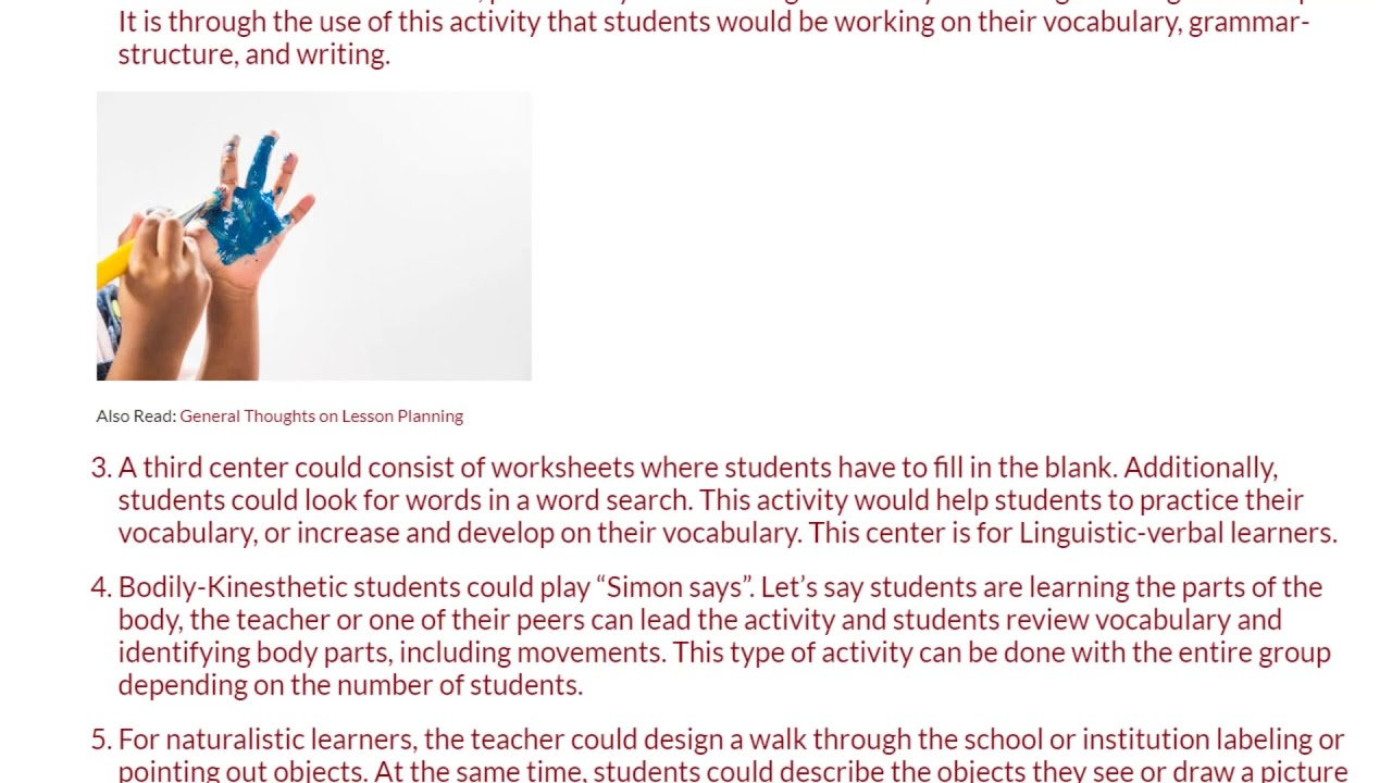 5 Ideas How to Differentiate in The Classroom | ITTT TEFL BLOG