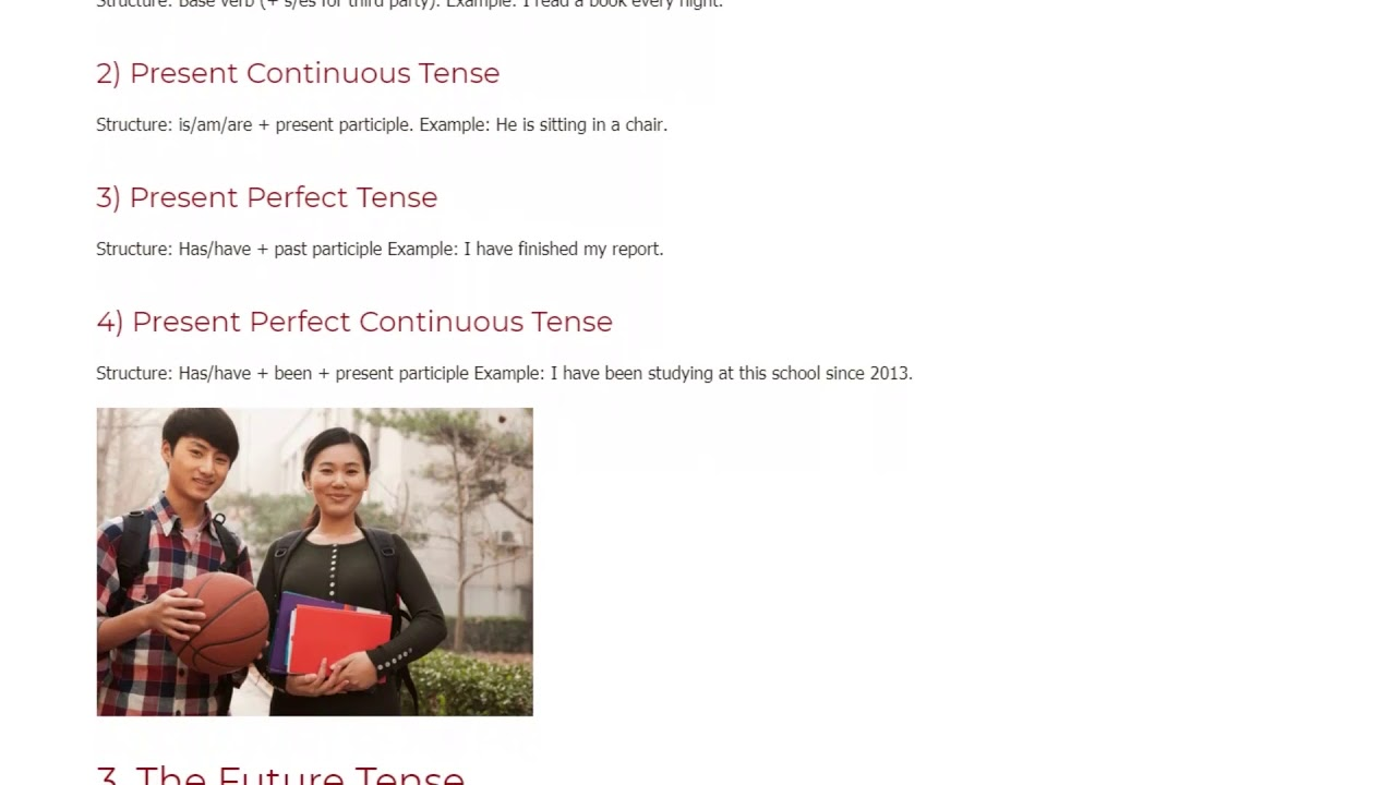 A Summary of All English Tenses for ESL Teachers and Learners   ITTT TEFL BLOG