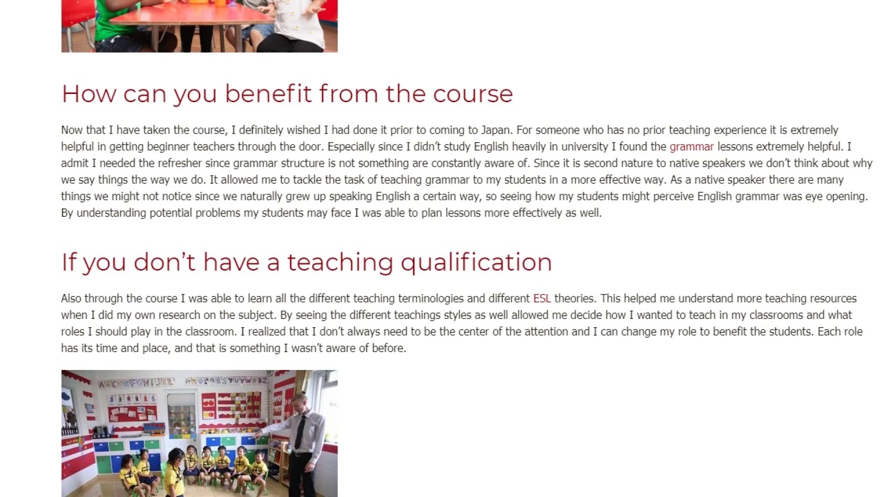 3 Reasons to Take a TEFL Training Course   ITTT TEFL BLOG