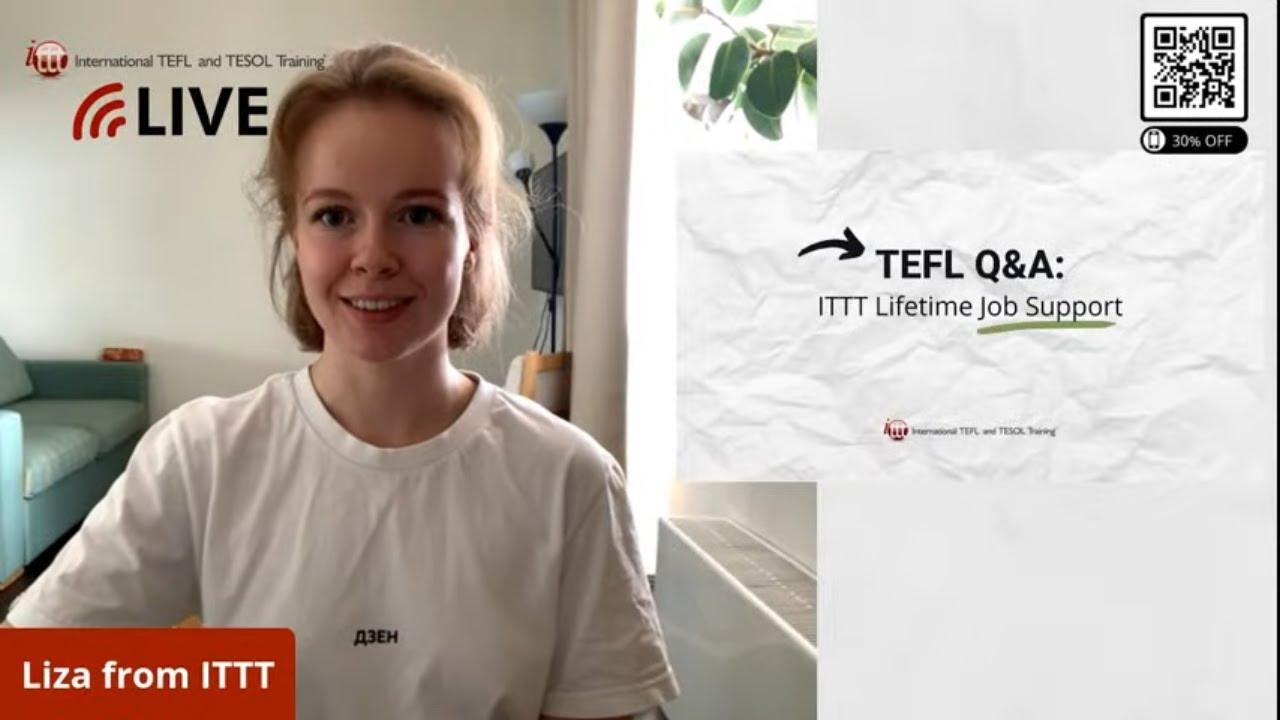 TEFL Q&A: Lifetime Job Support
