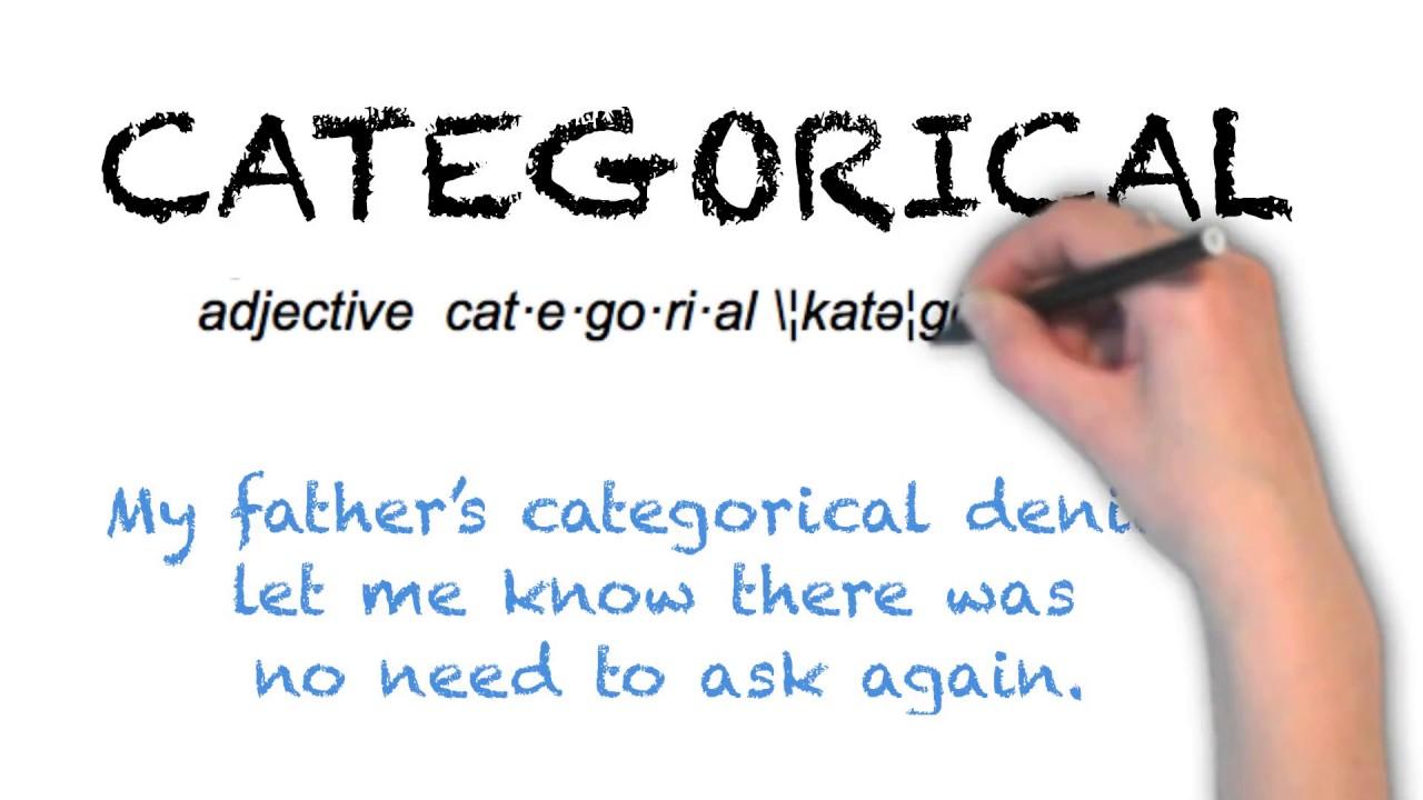 How To Pronounce 'CATEGORICAL'   Ask Linda!   Pronunciation