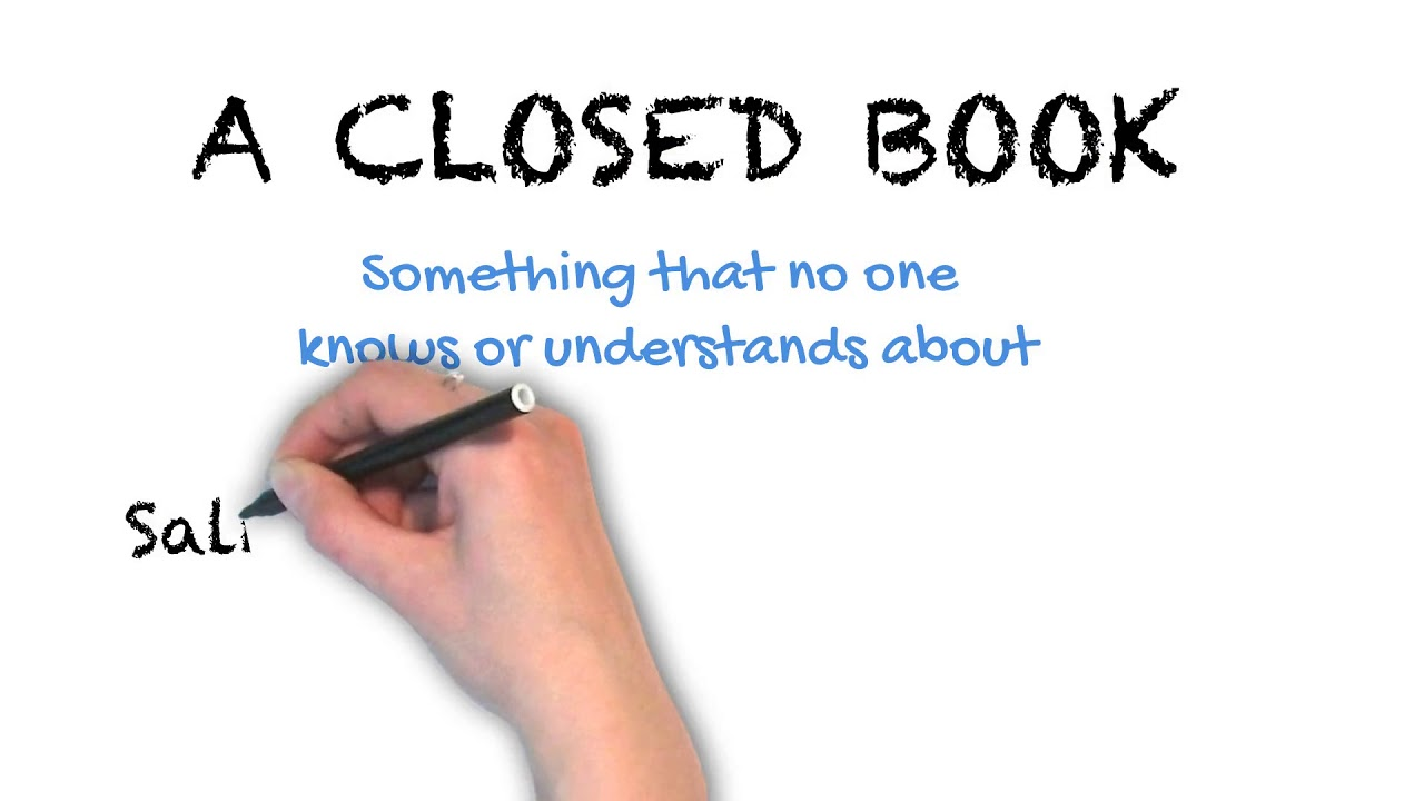 A Closed Book | Ask Linda! | Idioms