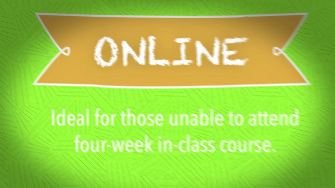 What's the difference between online courses, in-class courses and combined courses?