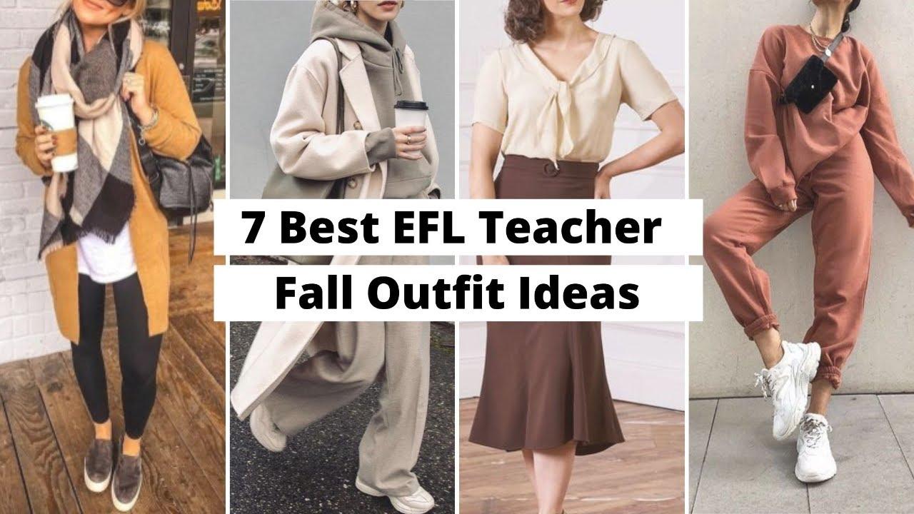 7 Best EFL Teacher Fall Outfit Ideas   ITTT   TEFL Blog