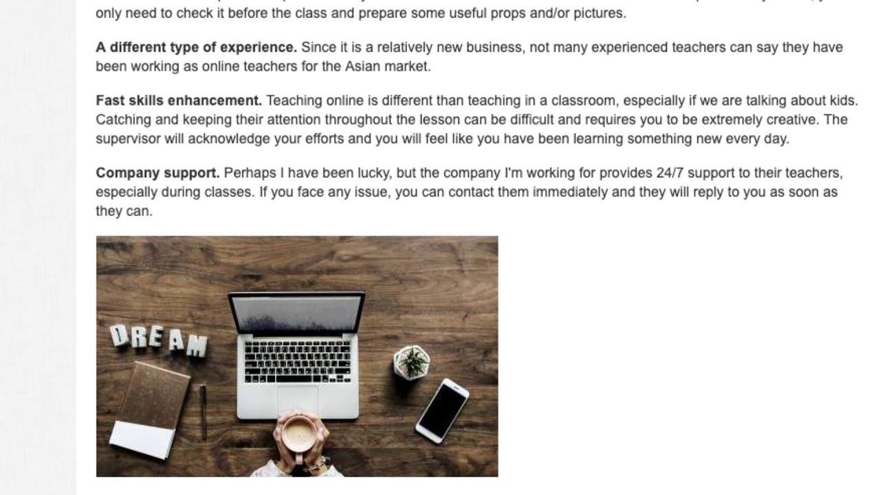 What it's Like to Teach English Online? An Online Teacher Reveals Her Secrets! | ITTT TEFL BLOG