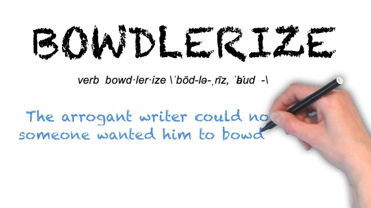 """Ask Linda How To Pronounce """"Bowdlerize"""""""