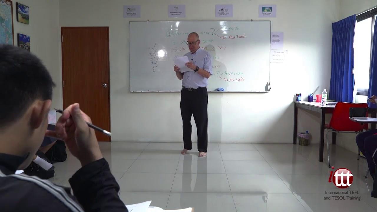 EFL Sample Lesson – Study Phase Feedback