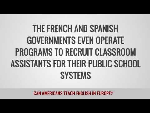 ITTT FAQs – Can Americans teach English in Europe?