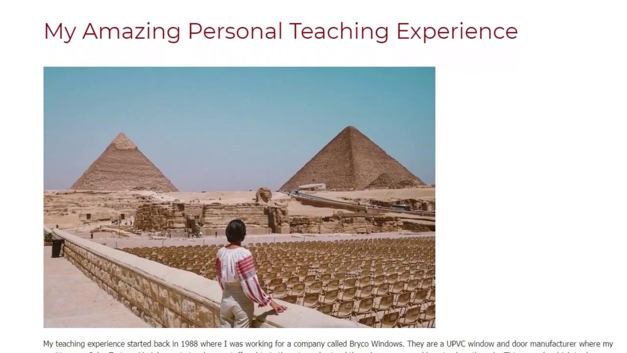My Amazing Personal Teaching Experience | ITTT TEFL BLOG