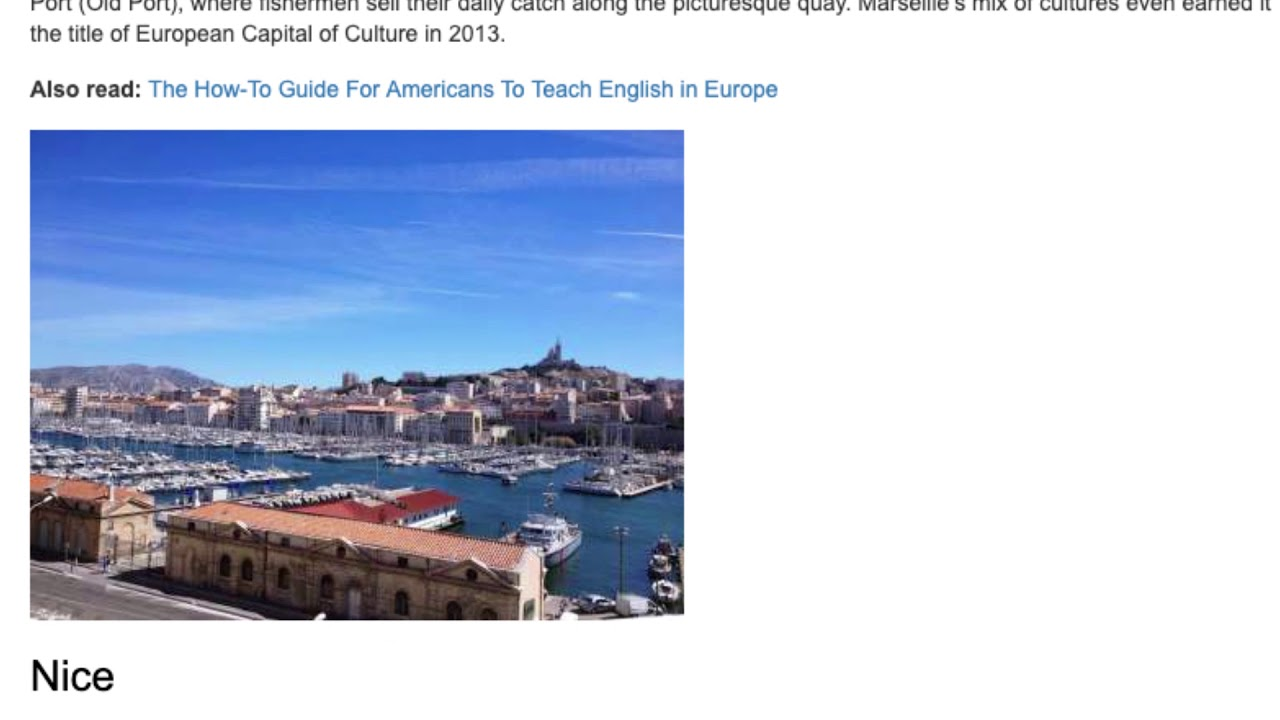 The Top 8 Cities in France For Teaching English Abroad   ITTT TEFL BLOG