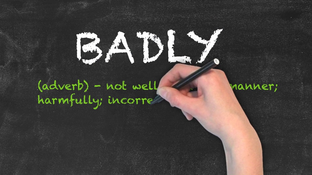 Bad vs Badly | Ask Linda! | English Grammar
