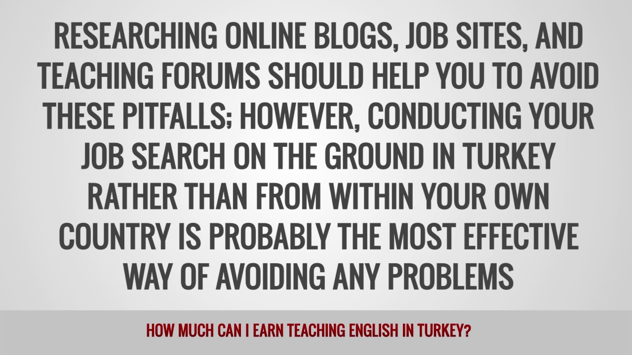 ITTT FAQs – How much can I earn teaching English in Turkey?