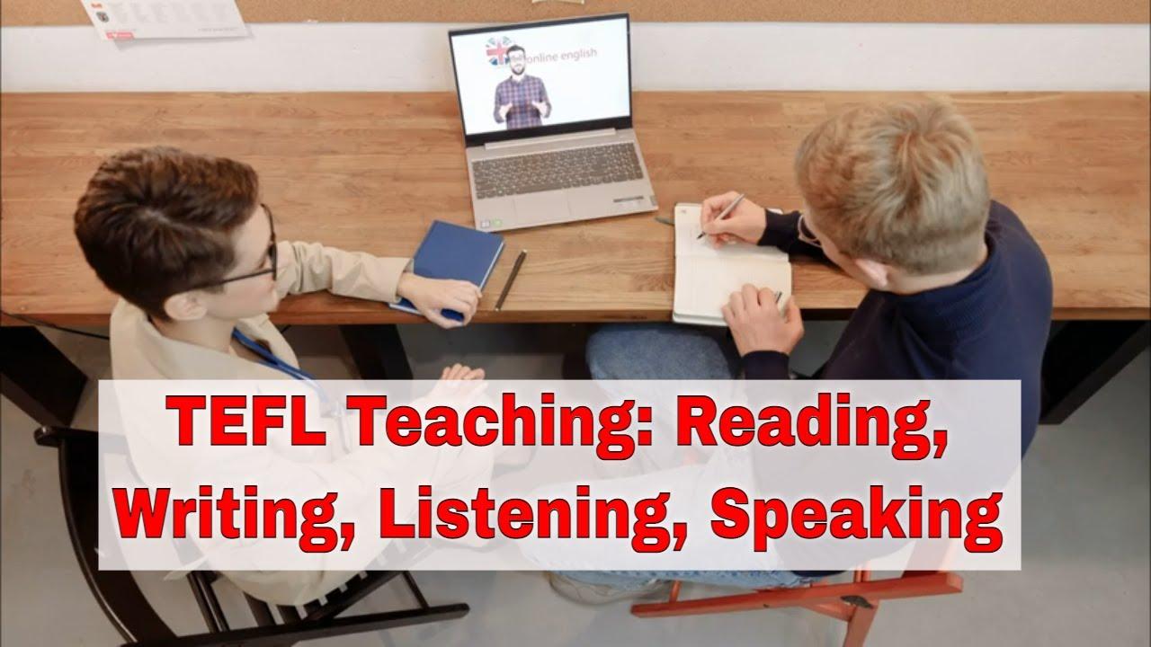TEFL Teaching: Receptive and Productive Skills | ITTT | TEFL Blog