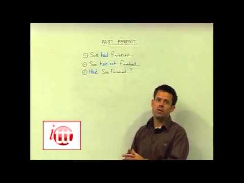 English Grammar – Past Perfect — Structure – Teaching English Online