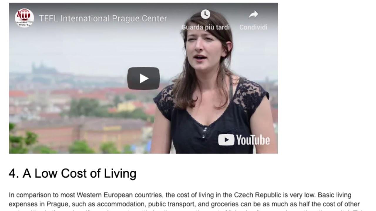 6 Reasons for Teaching English in the Czech Republic | ITTT TEFL BLOG