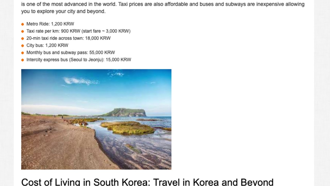 Teaching English in South Korea – The Salary and Budget Guide | ITTT TEFL BLOG