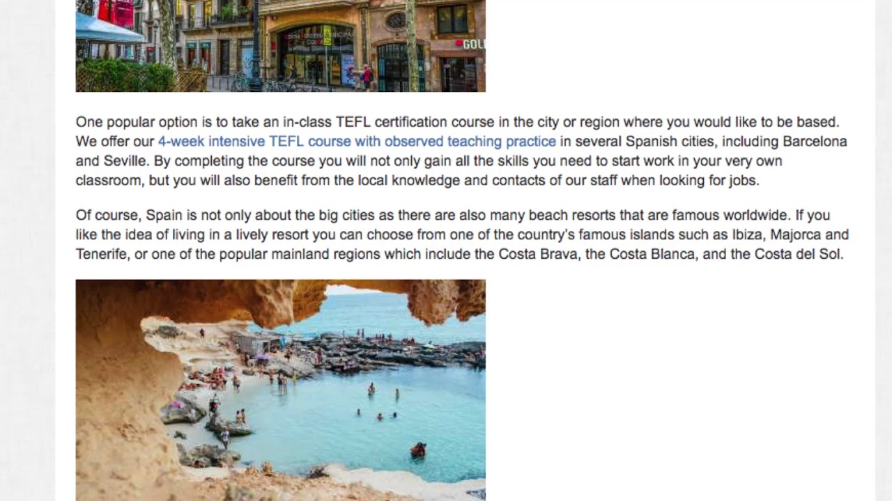 How to Legally Teach English in Spain with a Student Visa