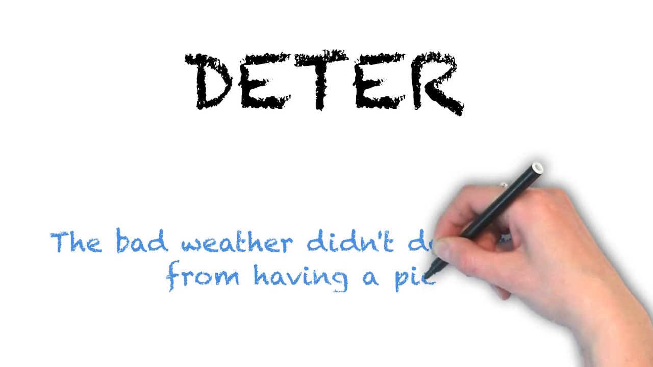How To Pronounce 'DETER' | Ask Linda! | Pronunciation