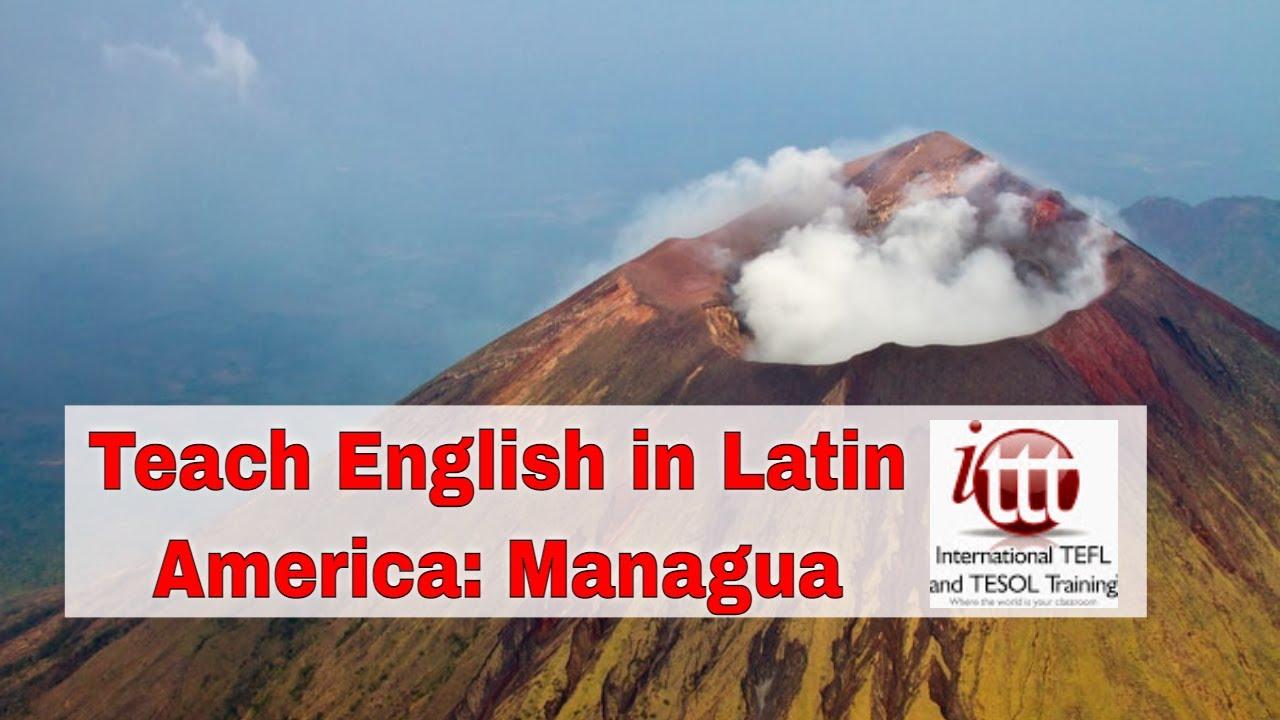Top 10 Cities for ESL Teaching in Latin America: Managua