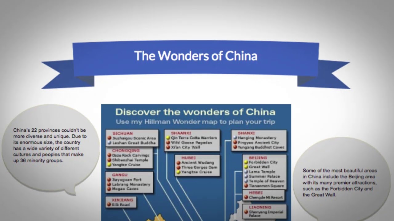 What are the best places to visit in China?