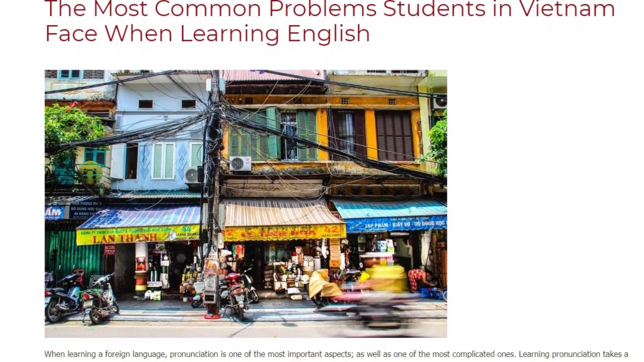 The Most Common Problems Students in Vietnam Face When Learning English | ITTT TEFL BLOG