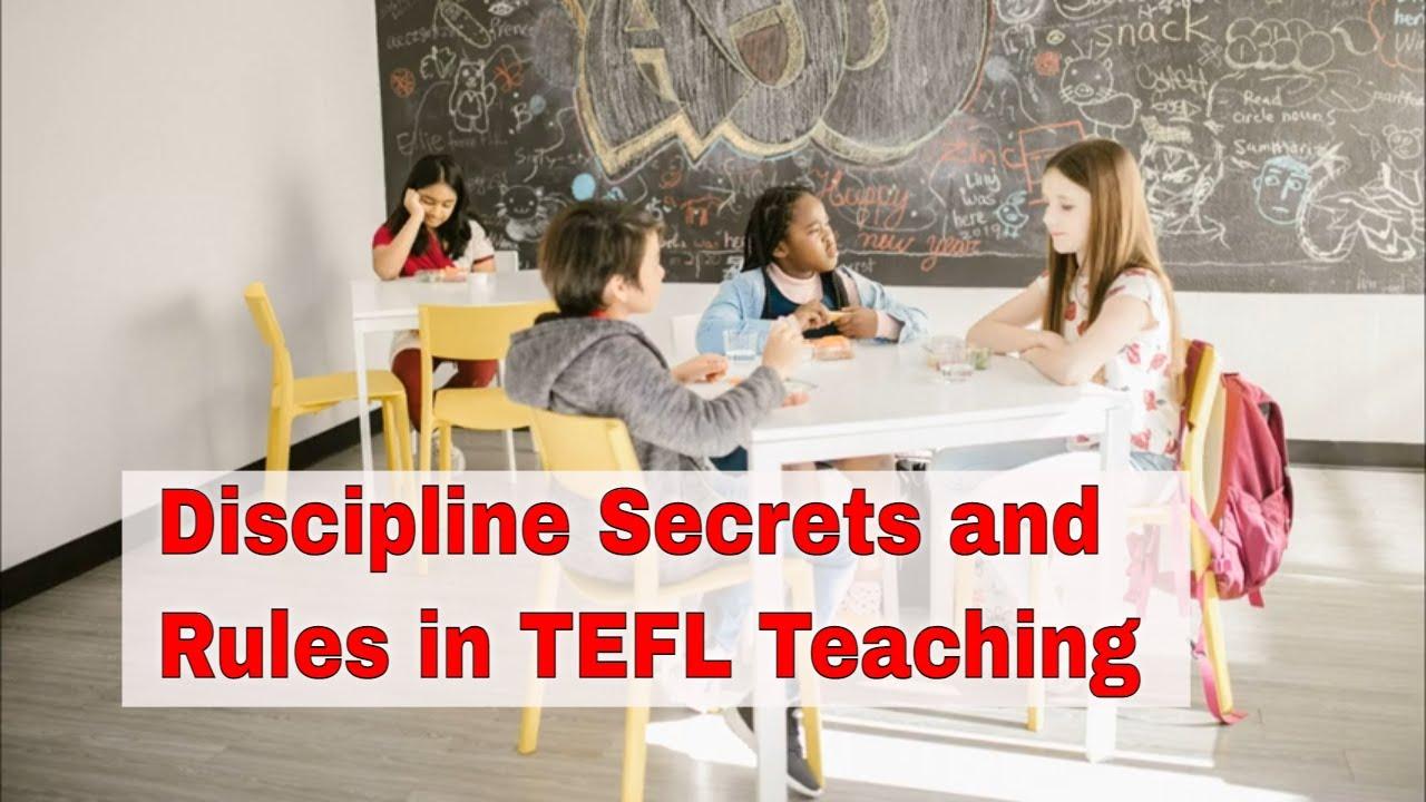 How to Balance Discipline in the ESL Classroom | ITTT | TEFL Blog