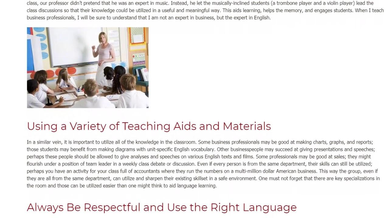How Learning A Foreign Language Made Me a Better ESL Teacher   ITTT TEFL BLOG