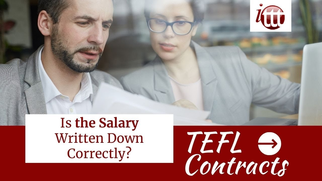Is the Salary Written Down Correctly? | TEFL Contract Tips
