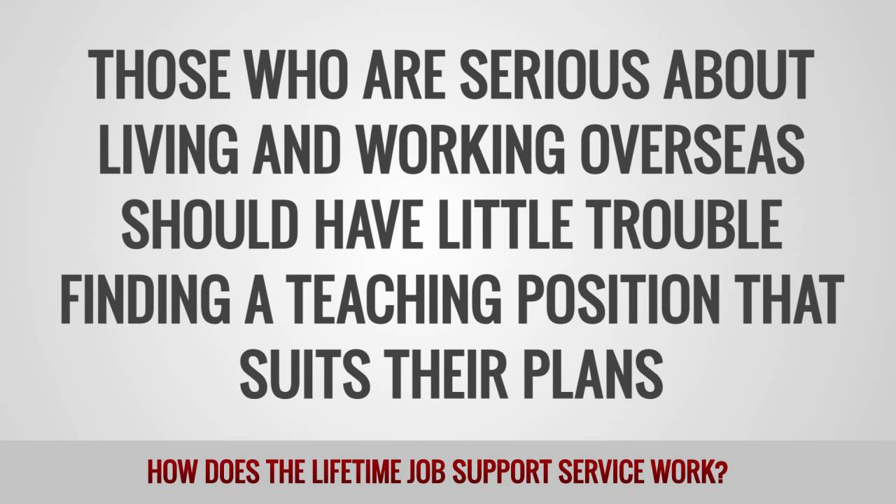 ITTT FAQs – How does the lifetime job support service work?