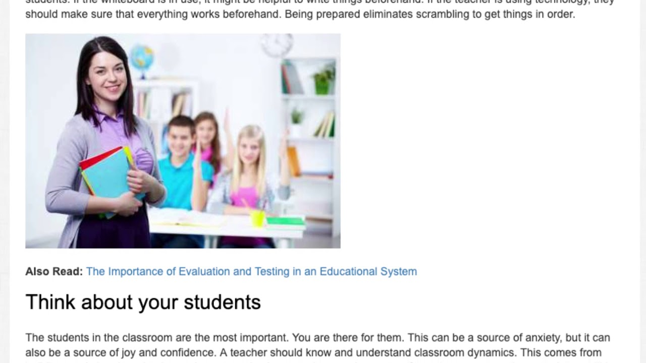 Effectiveness of Teacher Confidence and Skill   ITTT   TEFL Blog