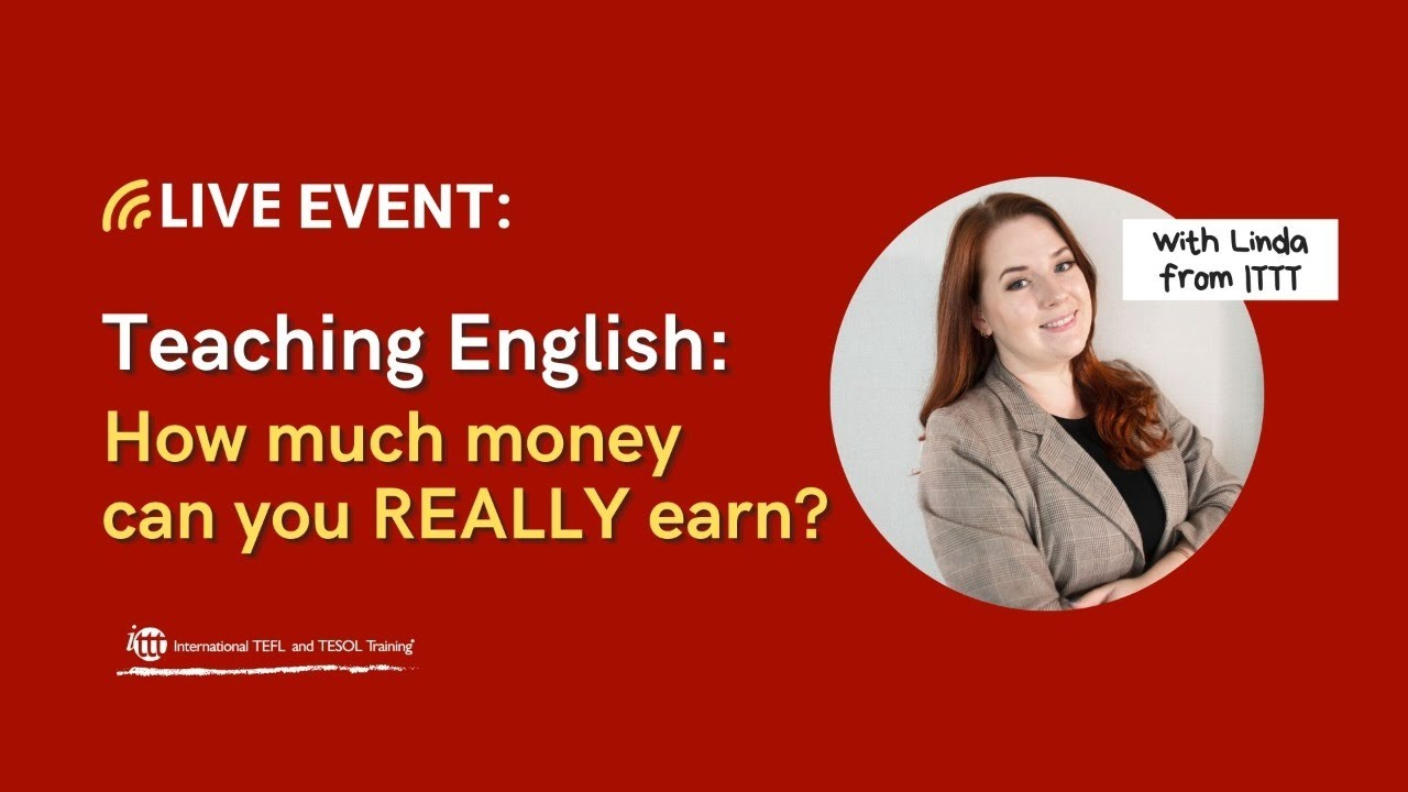 How much money can you REALLY earn when teaching English?