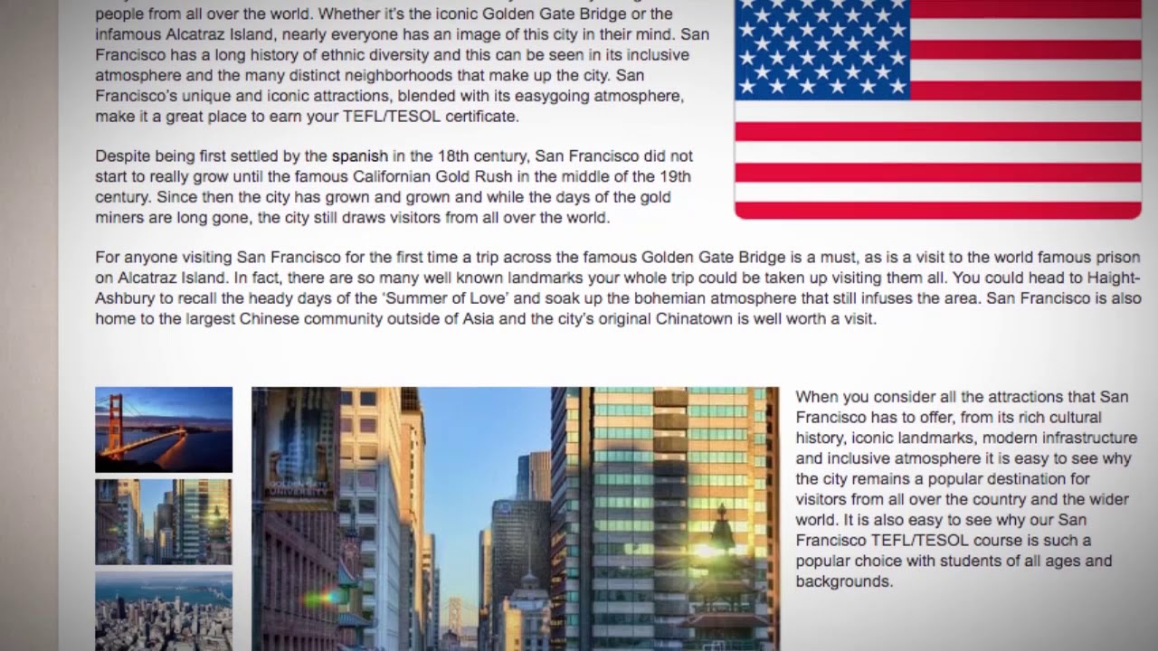 The Hottest TEFL Locations in the United States of America | ITTT TEFL BLOG