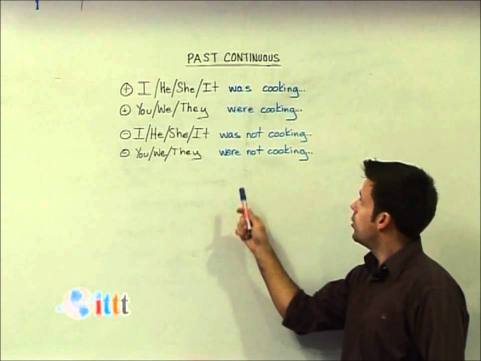 Past Continuous Tense (Teaching English)