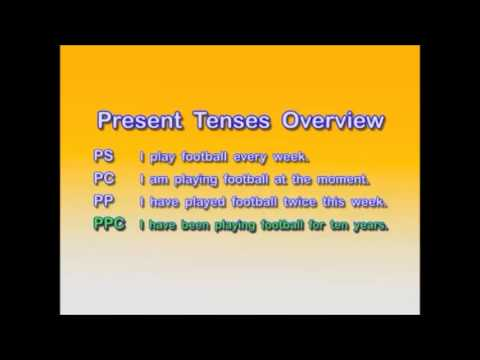 English Grammar — Present Tenses –Overview — Pay for English Teachers