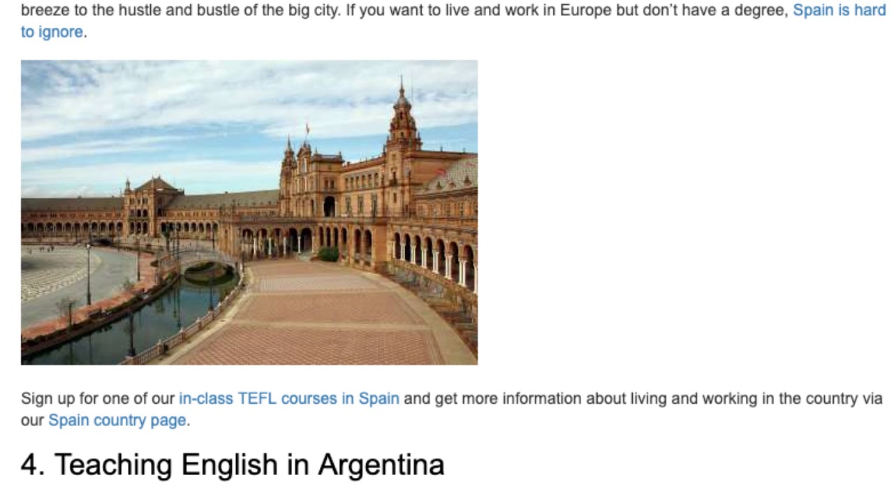 5 Great Places to Teach English Abroad Without a Degree | ITTT TEFL BLOG