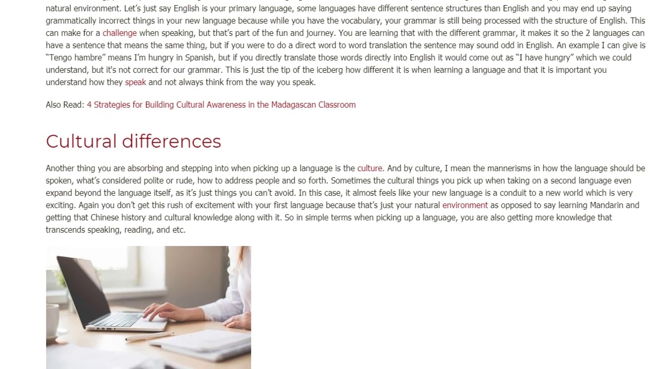 The Differences Between Learning Your First Language vs. A Second One | ITTT TEFL BLOG
