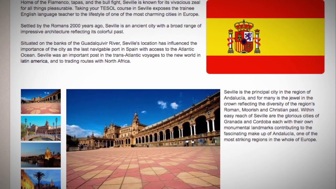 TESOL Course in Seville, Spain | Teach & Live abroad!