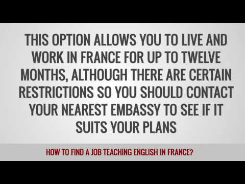 ITTT FAQs – How to find a job teaching English in France