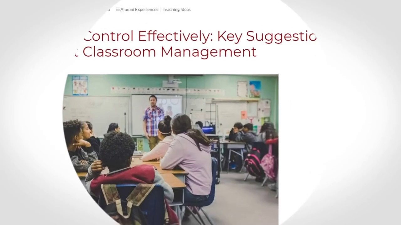 How to Control Effectively Key Suggestions for Perfect Classroom Management | ITTT TEFL BLOG