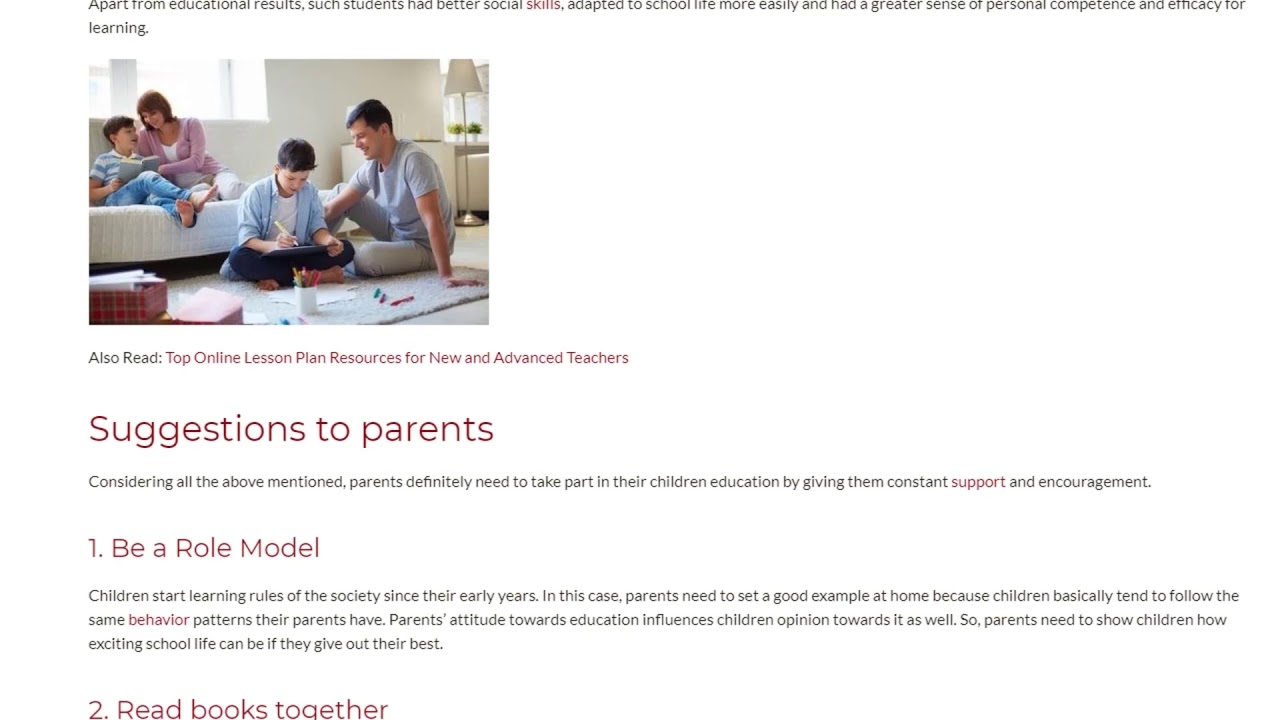 What Really Is the Role of the Parents in Education | ITTT TEFL BLOG