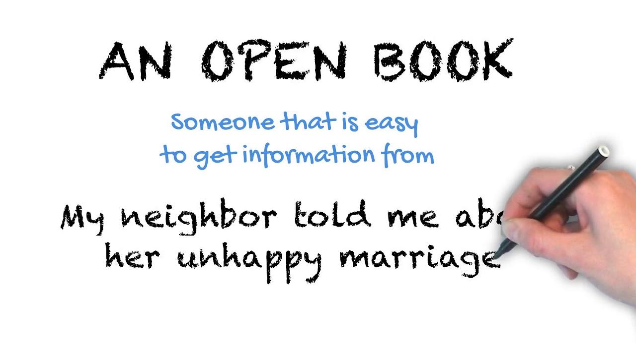An Open Book | Ask Linda! | Idioms