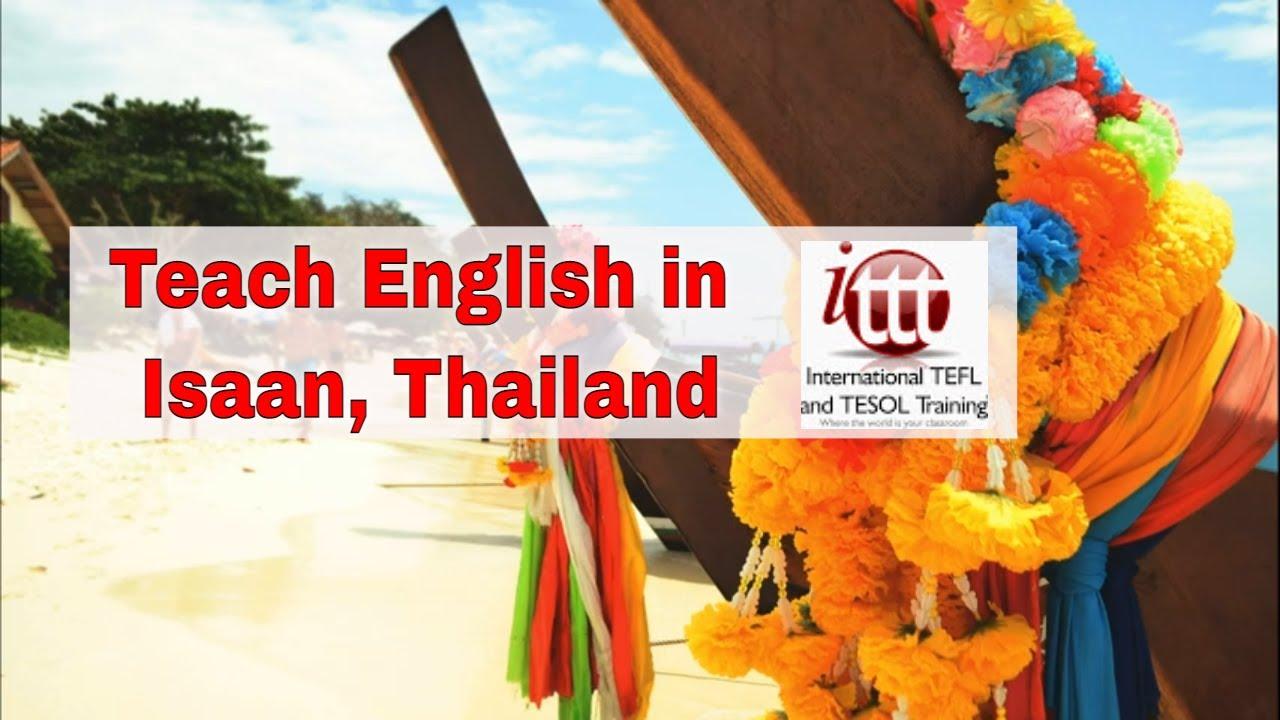 Teaching English Abroad: Isaan, Thailand