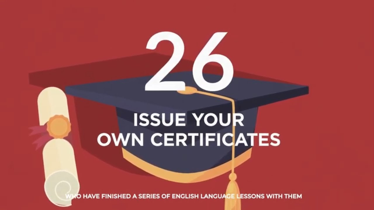 Why choose TEFL Certification with ITTT: Issue Your Own Certificates