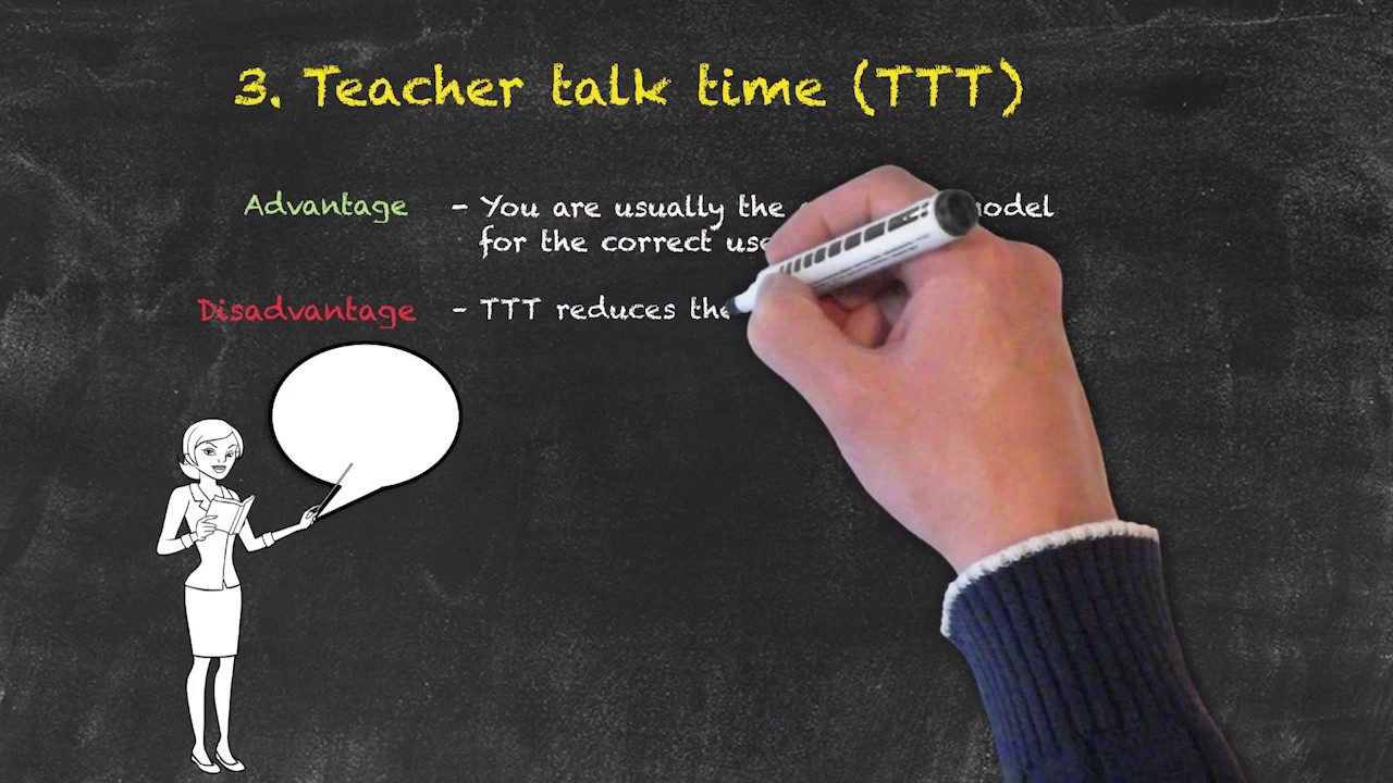 Classroom Management for Teaching English as a Foreign Language – Teacher Talk Time