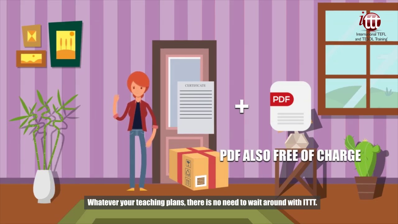 Why Choose ITTT?   PDF Copy of Your Certificate