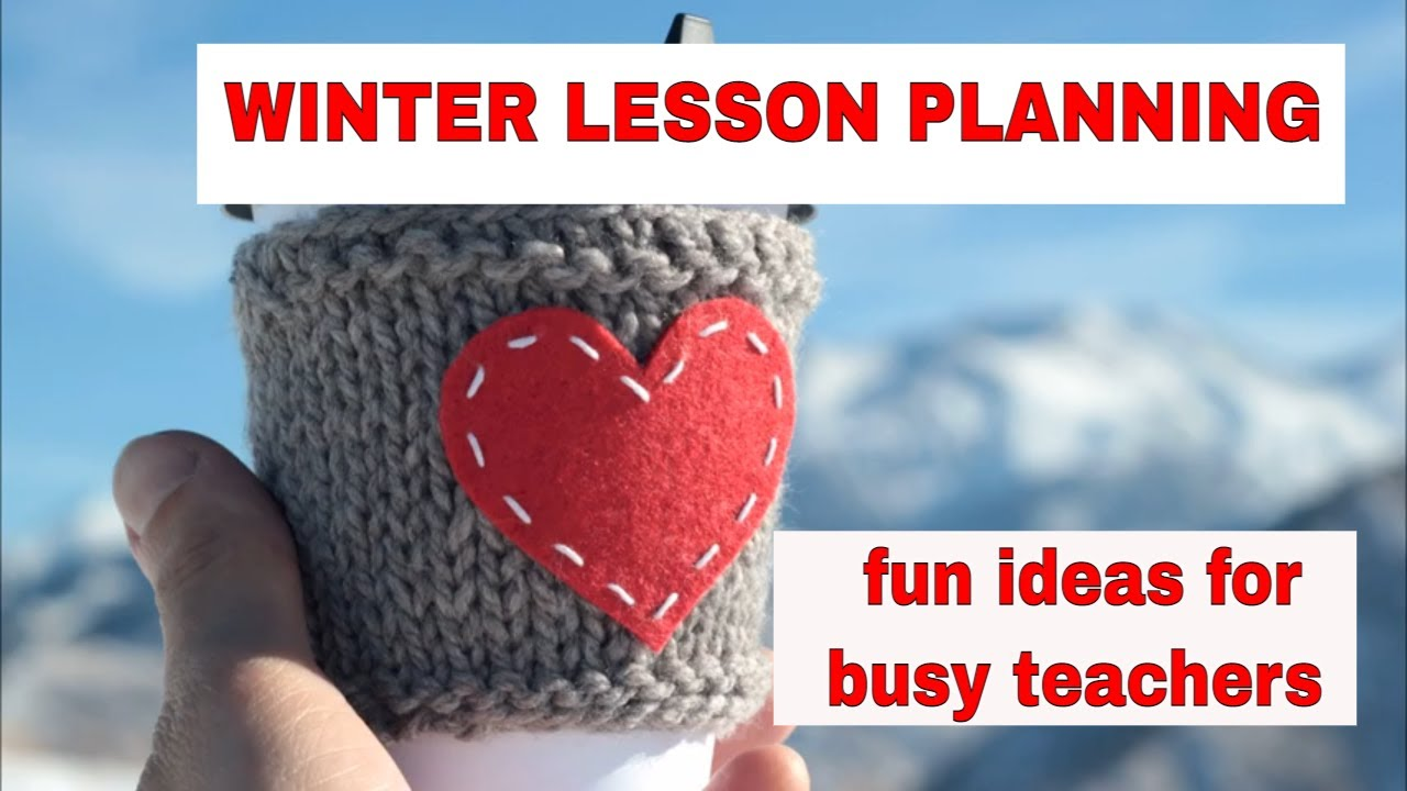 Lesson Planning: Winter English Activities – Making Sock Snowmen!
