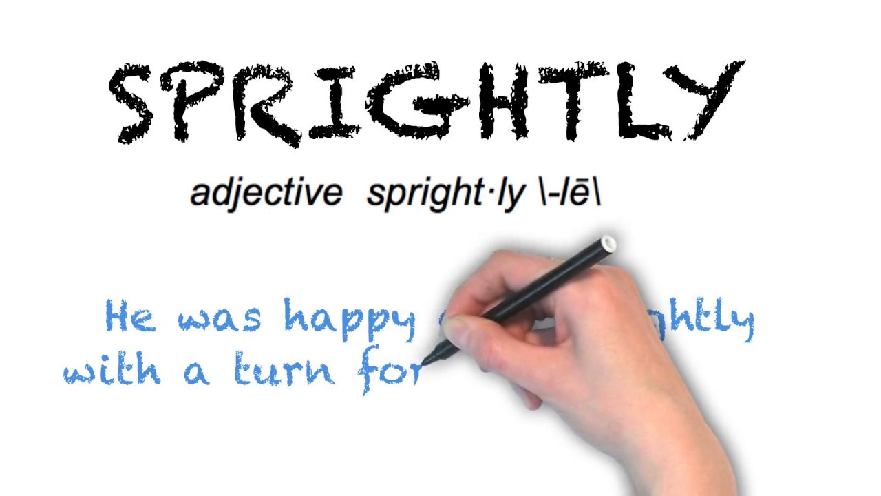 """Ask Linda How To Pronounce """"Sprightly"""""""