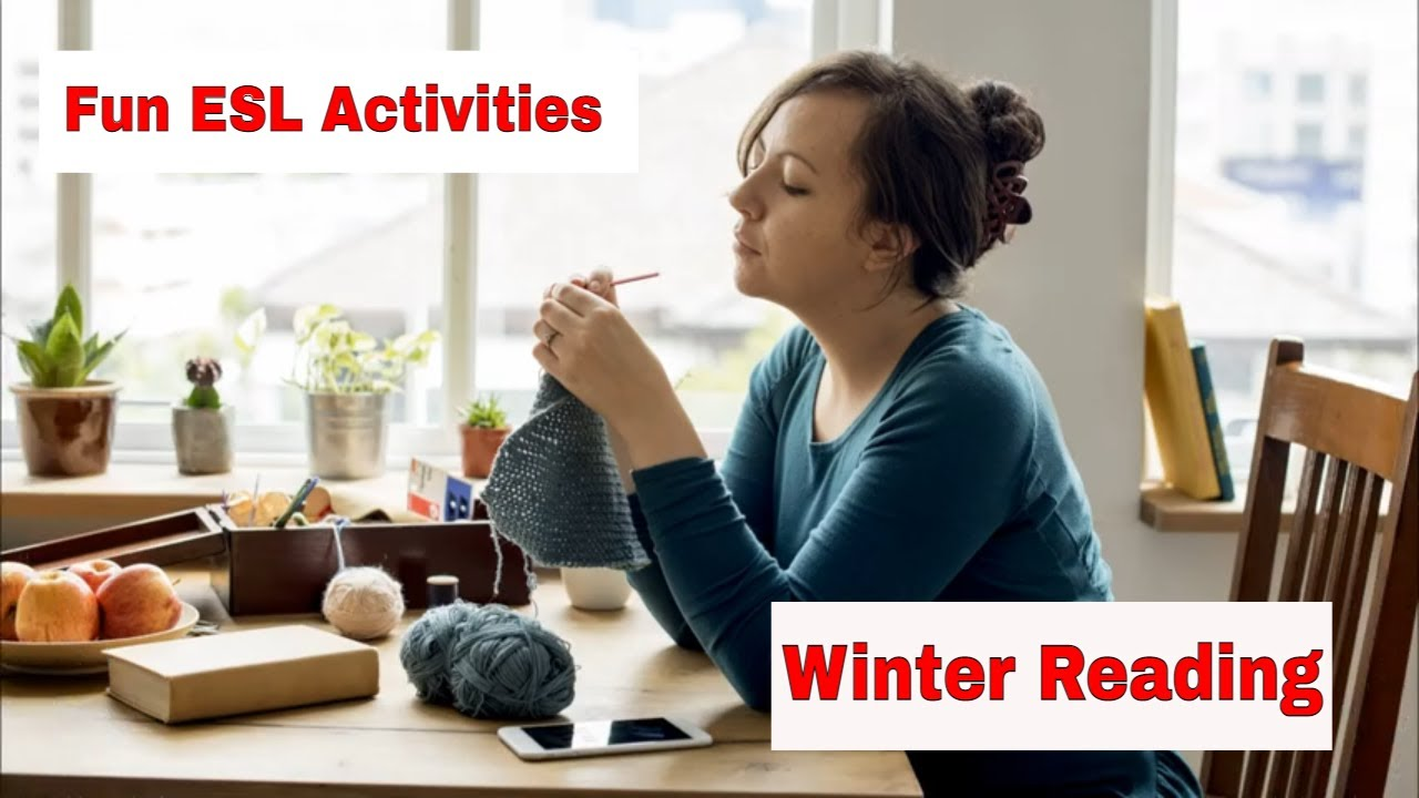 Amazing Winter and Christmas ESL Activities – Read something about winter