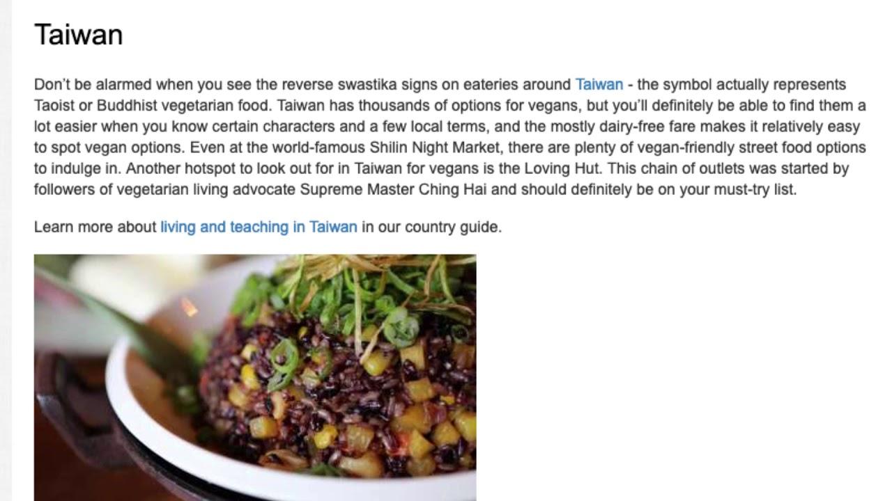 9 Vegan Friendly Destinations for Teaching English Abroad   ITTT TEFL BLOG