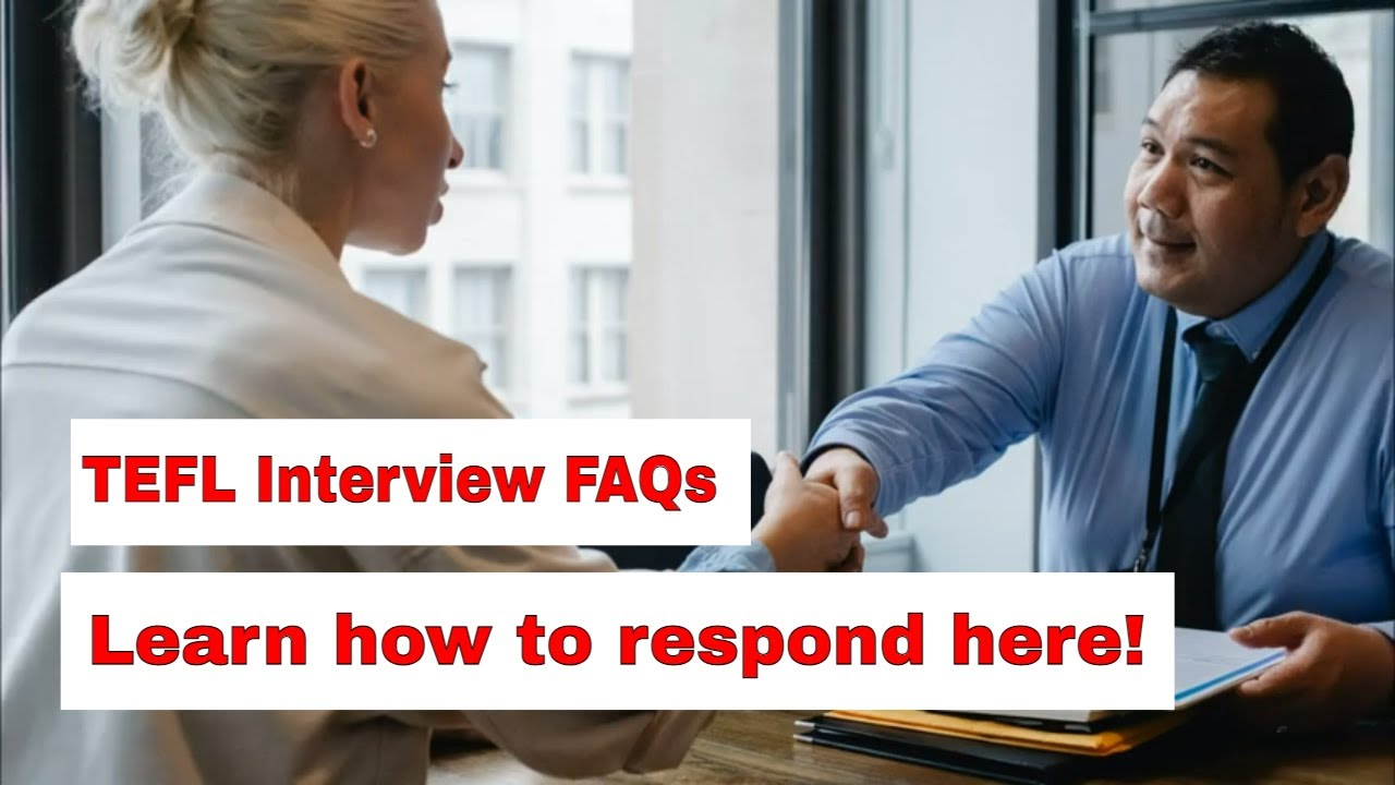 TEFL Interview FAQs – What kind of teaching experience do you have?